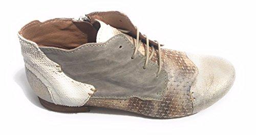 Clocharme Mujer Taupe Pietra Avorio para Cordones Zapatos de qawOqr