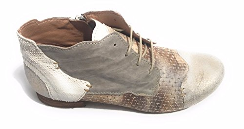 Pietra Avorio para Mujer Taupe Zapatos de Clocharme Cordones vAOXx0wn