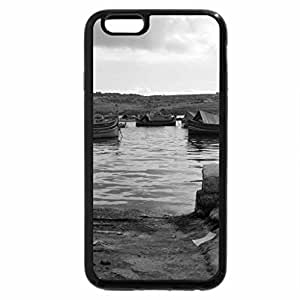 iPhone 6S Case, iPhone 6 Case (Black & White) - Malta Marsaxlokk