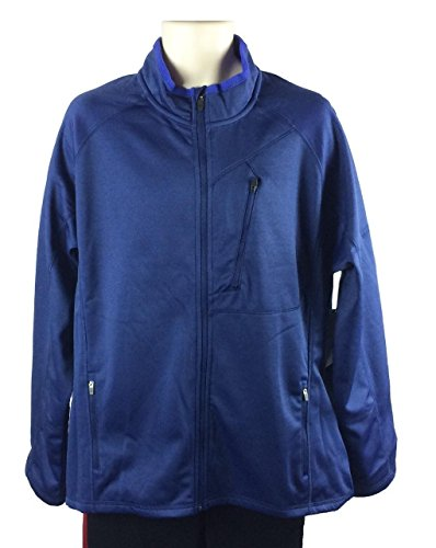 nordic-track-mens-soft-shell-zip-front-jacket-xxl-blue