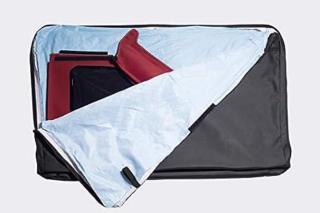 Compatible with 2007-2018 Wrangler JK 2-door//4-door Bonbo 4281535 Window Storage Bag with Handle for Trektop NX Family Soft Tops
