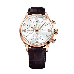 Louis Erard Men's 1931 Collection Silver Dial Chrono 78225PR11 Watch