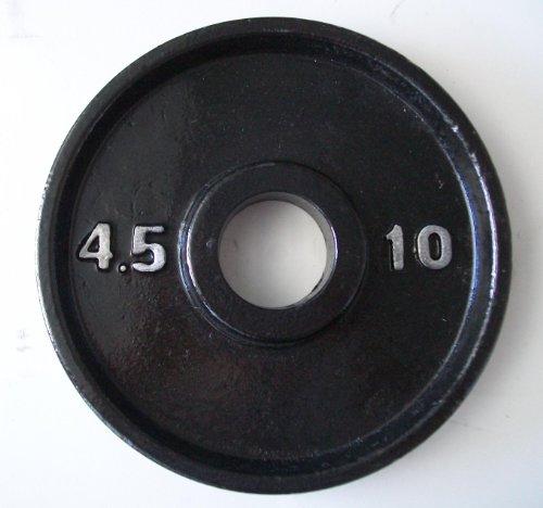 Cheap 10 lb. Black Olympic Plates (Pair)