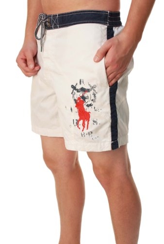 Polo Ralph Lauren Men's Big Pony Classic Style Boardshorts (L)
