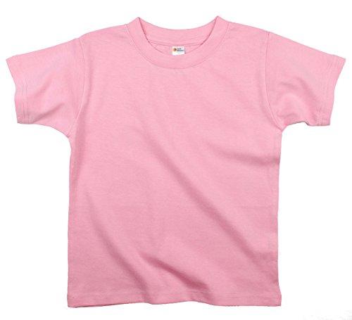 Girls Pink Ribbed - 1