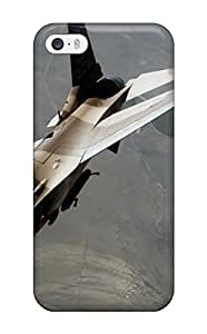 Perfect Tpu Case For Iphone 5/5s/ Anti-scratch Protector Case (an F 16 Fighting Falcon During A Red Flag Exercise) 6998597K51235173