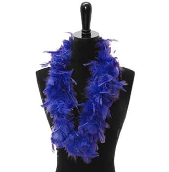 Feather Leis- (2 leis), Bright Blue