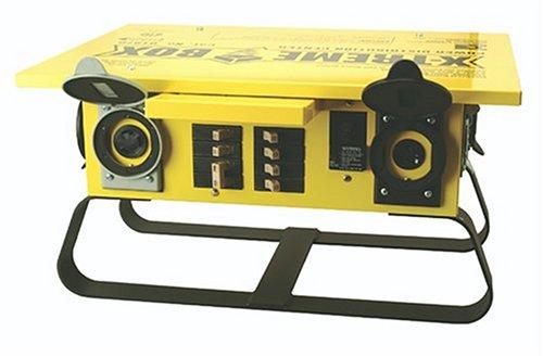 Southwire 019703R02 1970 Xtreme Box Straight Blade Portable Power Distributor (Box Power Backplane)