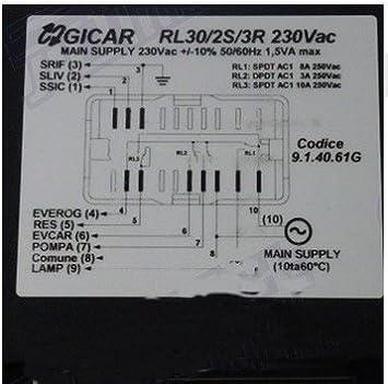 Amazon.com: Nuova Simonelli Oscar Gicar RL30/2S/3R 115V ...