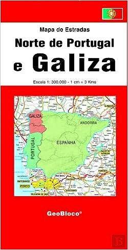 Norte De Portugal E Galiza Mapa De Estradas Varios Autores
