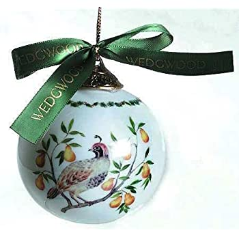 Partridge In A Pear Tree Ornament Amazon.com: Wed...