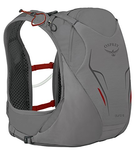 Osprey Packs Duro 6 Hydration Pack, Silver Squall, M/l, Medium/Large [並行輸入品] B07DVWNWVQ