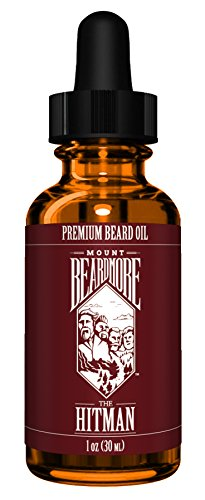 Price comparison product image Premium Beard Oil by MOUNT BEARDMORE™, Packed With 100% All Natural Nutrient Rich Oils and Scented With Essential Oils, Aptly Named 'THE HITMAN' Every Drop Smells Like A Job Well Done