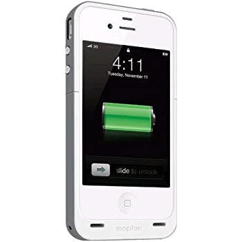 mophie juice pack Plus for iPhone 4/4S (2,100mAh) - Grey