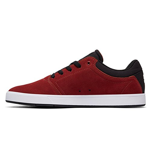 Dc Mens Crisis Lace-up Sneaker Donkerrood