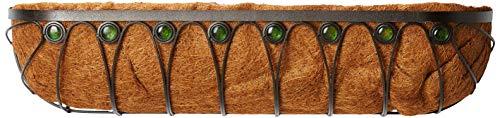 Arcadia Emerald Series Wall Trough Planter, 36-Inch ()