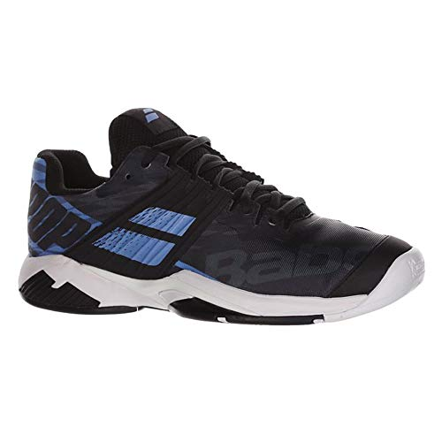 Used, Babolat Propulse Fury AC Men's Tennis Shoes, Black/Parisian for sale  Delivered anywhere in USA