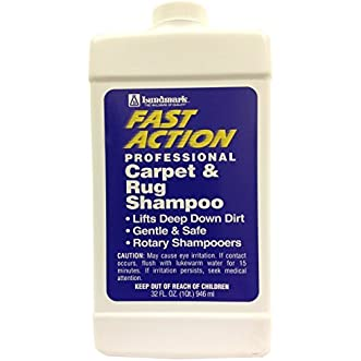 Lundmark Wax-Fast Action FAS-6231F32-6 Carpet and Rug Shampoo, 32-Ounce by Lundmark Wax Company