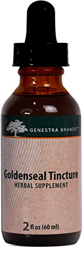 Genestra Brands - Goldenseal Tincture - Herbal Supplement Support for the Digestive Tract* - 2 fl oz (60 ml)