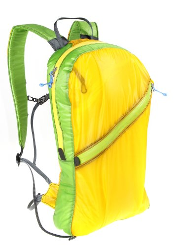 Granite Gear Go and Stow Travel Backpack - Yellow/Green 18L