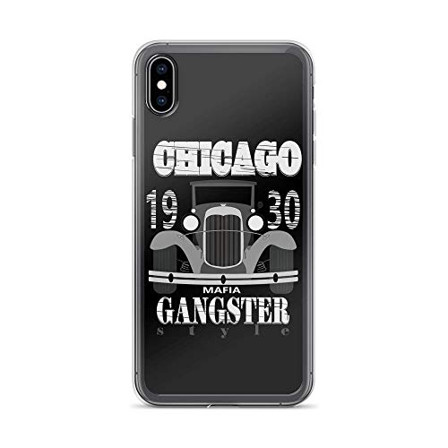 iPhone Xs Max Pure Clear Case Cases Cover Gangster T- 1930S Chicago Mafia]()