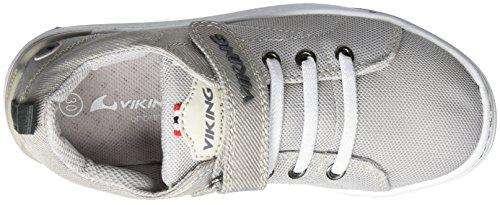 Viking Unisex-Kinder Frogner Outdoor Fitnessschuhe Grau (Light Grey/Grey)