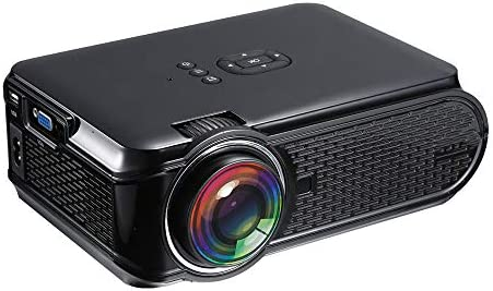 HLKYB Mini proyector, 1500 lúmenes 1080P Proyector de Video para ...