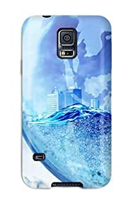 Fashionable UQcybsI8479mARXK Galaxy S5 Case Cover For Artistic Cgi Abstract Cgi Protective Case