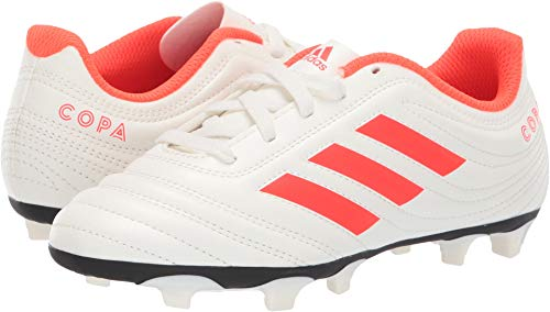new style d46d4 79e4e adidas Unisex Copa 19.4 Firm Ground, off whitesolar redoff white, 3 M US  Little Kid