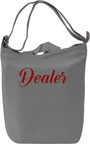 Dealer Borsa Giornaliera Canvas Canvas Day Bag| 100% Premium Cotton Canvas| DTG Printing|