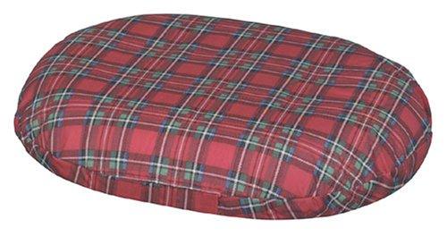 DMI 14-inch Molded Foam Ring Donut Seat Cushion Pillow for Hemorrhoids, Back Pain, Plaid