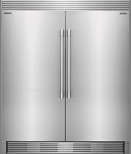- Frigidaire PROFESSIONAL Stainless Steel Refrigerator Freezer Combo & Trim FPRU19F8RF FPFU19F8RF TRIMKITEZ2