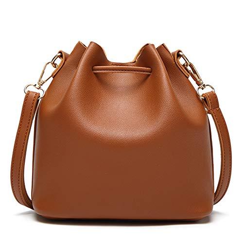 De Messenger Retro La Las Bolso Messenger Señoras Brown Bag green Bandolera Borla Simple Fq0wBn