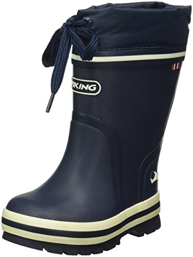Viking Unisex-Kinder New Splash Winter Gummistiefel, Rot (Red 10), 28 EU