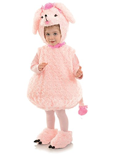 Underwraps Baby Poodle Costume, Pink -