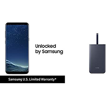 Samsung Galaxy S8+ and Samsung Fast Charge 5100 mAh Battery Pack
