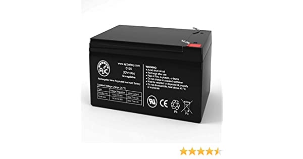 CSB GP12110F2 12V 12Ah UPS Battery This is an AJC Brand Replacement
