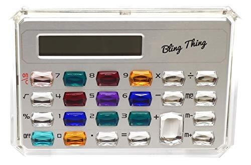 - Gemstone Pocket Calculator in Gold or Silver