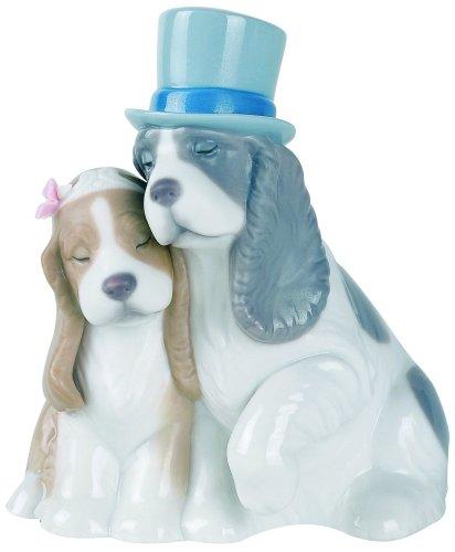 可愛いカップル リヤドロ ナオ いつまでもいっしょ/ Nao Together Forever Porcelain 輸入品 B0007Q3T8C