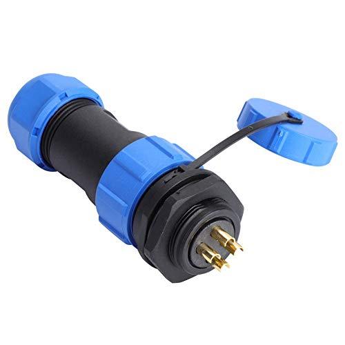 航空プラグソケット、防水航空プラグソケットケーブルインラインコネクタアプリケーションの交換用アクセサリー(#3)