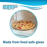 "HQRP 12-3/4 inch 12.75"" Glass Turntable Tray"