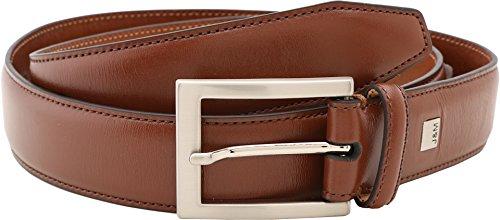 Johnston And Murphy Mens Belt Buckle - Johnston & Murphy Men's Dress Belt,Cognac,Size 32