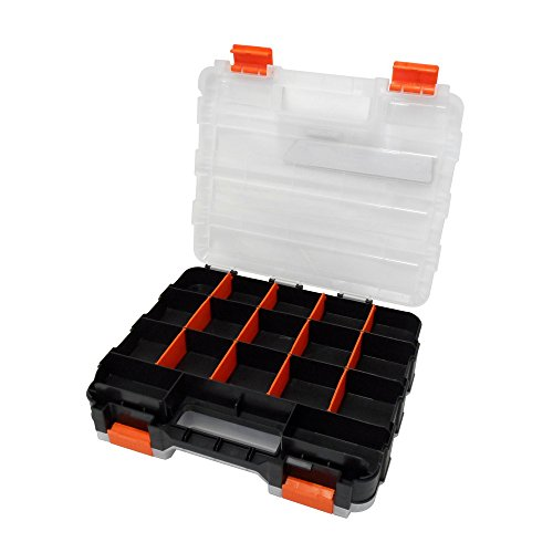 HDX 320028 34-Compartment Double Sided Organizer with Impact Resistant Polymer and Customizable Removable Plastic Dividers by HDX (Image #2)