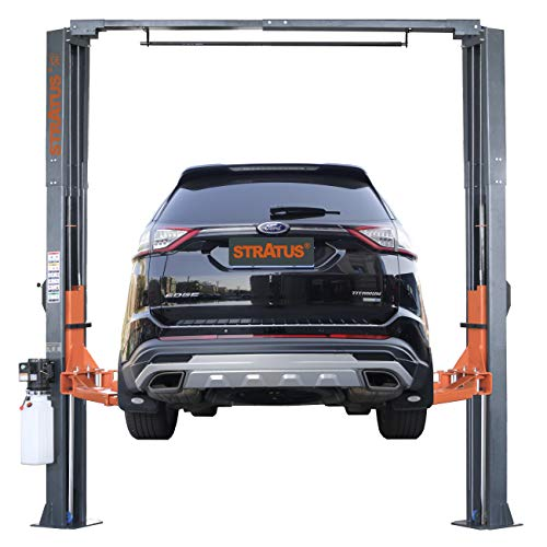 STRATUS Asymmetric Clear Floor 10,000 lbs Capacity Car Lift