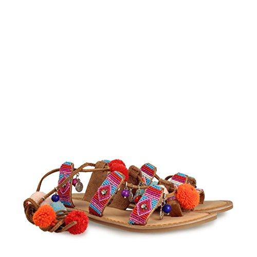 Sandalias y chanclas para mujer, color Rosa , marca GIOSEPPO, modelo Sandalias Y Chanclas Para Mujer GIOSEPPO 40659R Rosa naranja