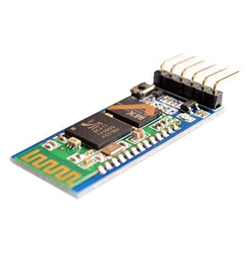 5 pz HC-05 Wireless Bluetooth Transceiver Seriale Modulo 6 Pin Master-Slave Bluetooth Extender Plate per Arduino e Genuine 5pcs HC-05 Integrated Bluetooth Module Wireless Serial Port Module HC05