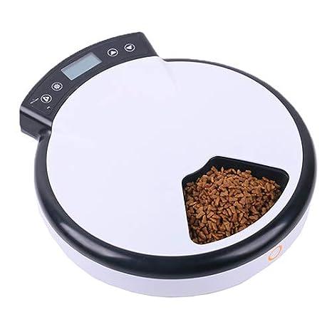 QNMM Alimentador Automático para Mascotas Comedero Lento Automático para Gatos Y Perros con Comedero Húmedo para Grabadora De Voz: Amazon.es: Productos para ...