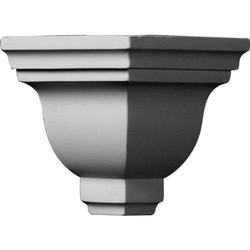 Ekena Millwork MOC05X04ED  5-Inch P x 4-Inch H Outside Corner for Molding - Corner Outside