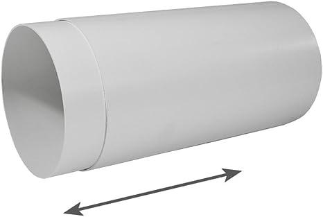 EASYTEC® Tubo telescópico 150 mm de diámetro longitud 28 – 52 cm – Tubo para muro pared Buzón: Amazon.es: Grandes electrodomésticos