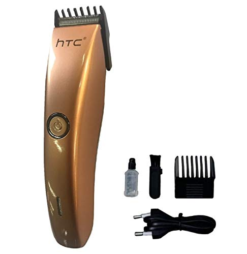 HTC AT 206A Rechargeable Cordless Trimmer for Men White